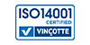 Neaforma NV is ISO 14001 certified